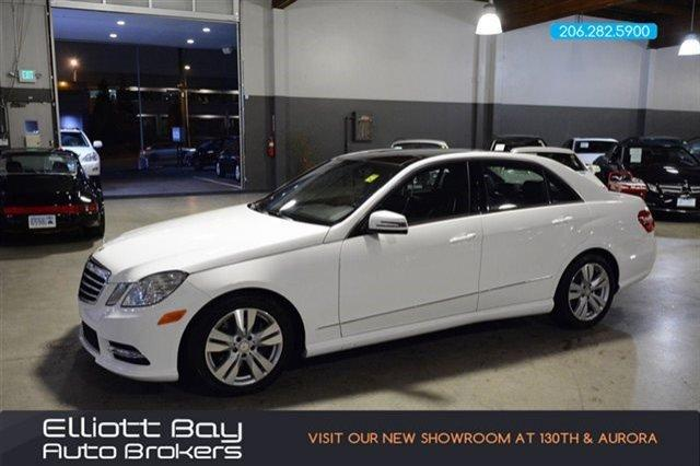 2013 mercedes benz e class awd e350 luxury 4matic 4dr for Mercedes benz dealership seattle