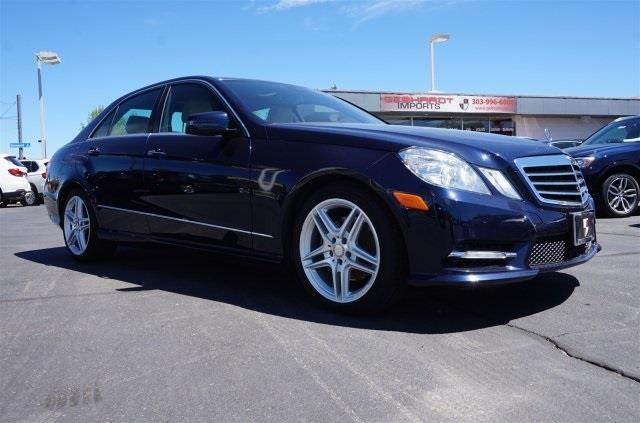 2013 Mercedes-Benz E-Class E 350 Luxury 4MATIC AWD E