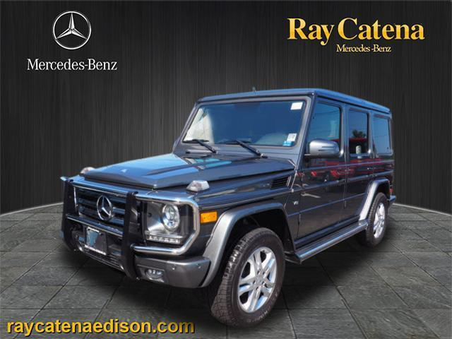 2013 mercedes benz g class g 550 awd g 550 4matic 4dr suv for Motor vehicle inspection edison nj