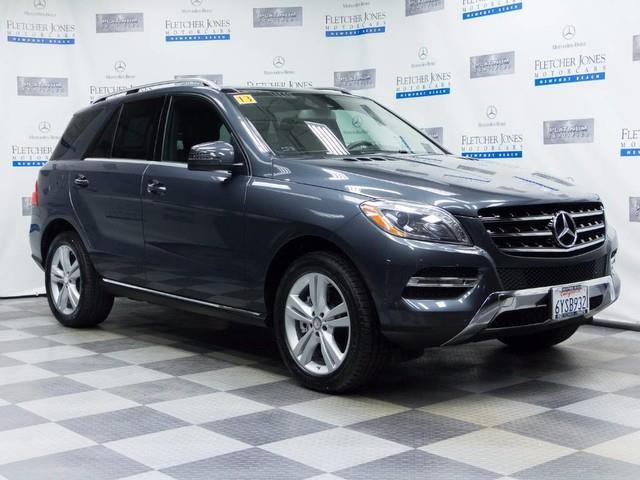 2013 mercedes benz m class ml 350 4matic awd ml 350 4matic for Mercedes benz suv 2013 for sale