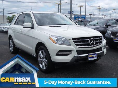 2013 mercedes benz m class ml 350 4matic awd ml 350 4matic for Mercedes benz suv carmax