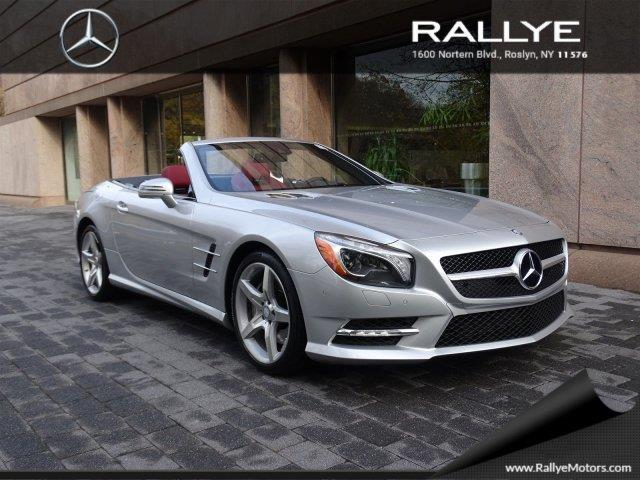 2013 mercedes benz sl class sl 550 sl 550 2dr convertible for Mercedes benz roslyn