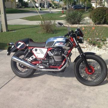 2013 Moto Guzzi V7 Racer As New