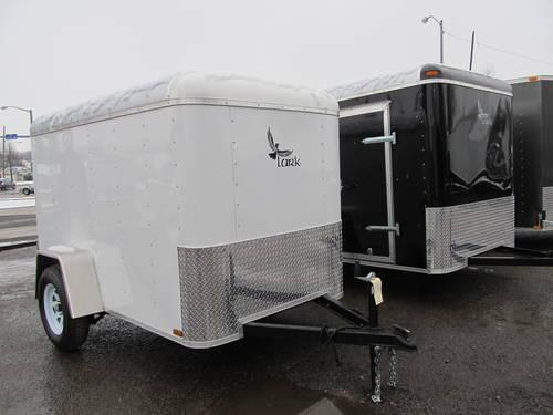 2013 New 5 X 8 Single Axle Enclosed Cargo Trailer For