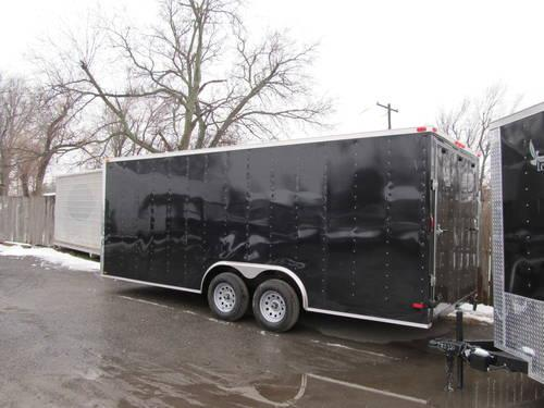 2013 New 7 X 20 Tandem Axle Enclosed Cargo Trailer Tulsa