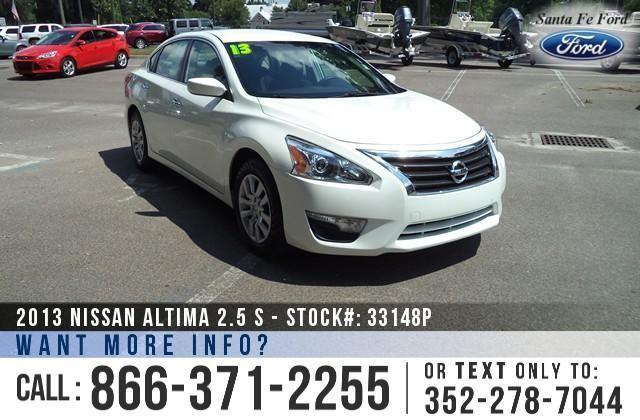 2013 Nissan Altima 25 S - PureDrive - 1 Owner