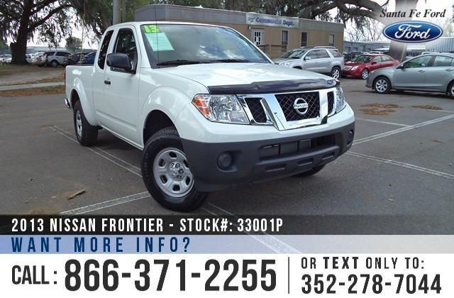 2013 Nissan Frontier ONE Owner - Manual Transmission