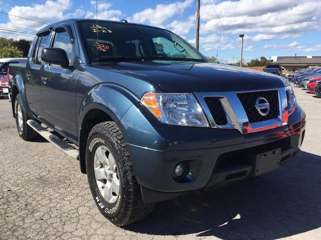 2013 nissan frontier sv 4x4 sv 4dr crew cab 5 ft sb pickup 6m for sale in canandaigua new york. Black Bedroom Furniture Sets. Home Design Ideas
