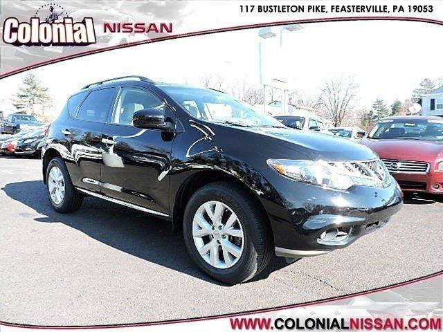 2013 nissan murano sl awd sl 4dr suv for sale in langhorne pennsylvania classified. Black Bedroom Furniture Sets. Home Design Ideas