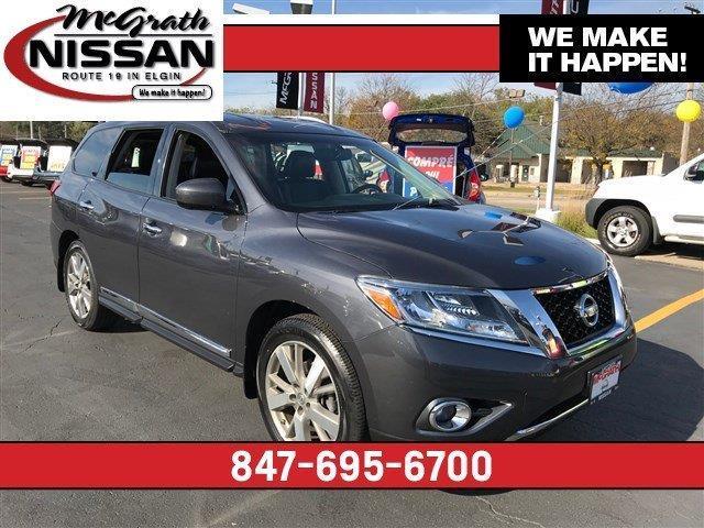 2013 Nissan Pathfinder Platinum 4x4 Platinum 4dr Suv For