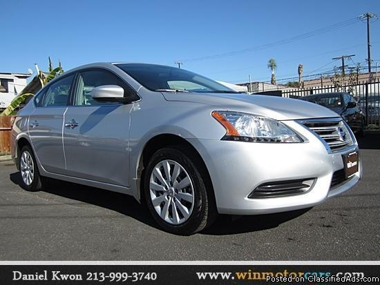 2013 nissan sentra 1 8 sv silver 7 371 mile for sale in los angeles california classified. Black Bedroom Furniture Sets. Home Design Ideas