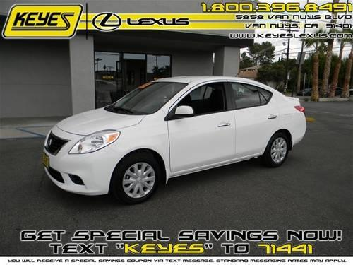 2013 nissan versa sedan 1 6 sv for sale in van nuys california classified. Black Bedroom Furniture Sets. Home Design Ideas