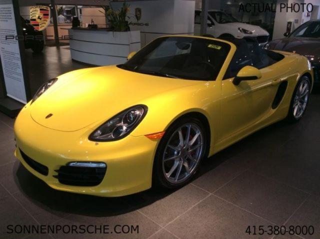 2013 porsche boxster s for sale in mill valley california classified. Black Bedroom Furniture Sets. Home Design Ideas