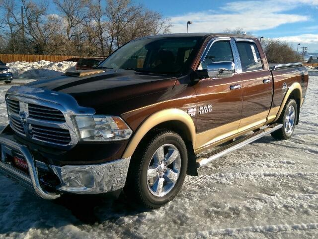 2013 ram ram pickup 1500 big horn 4x4 big horn 4dr crew cab 6 3 ft sb pickup for sale in cody. Black Bedroom Furniture Sets. Home Design Ideas