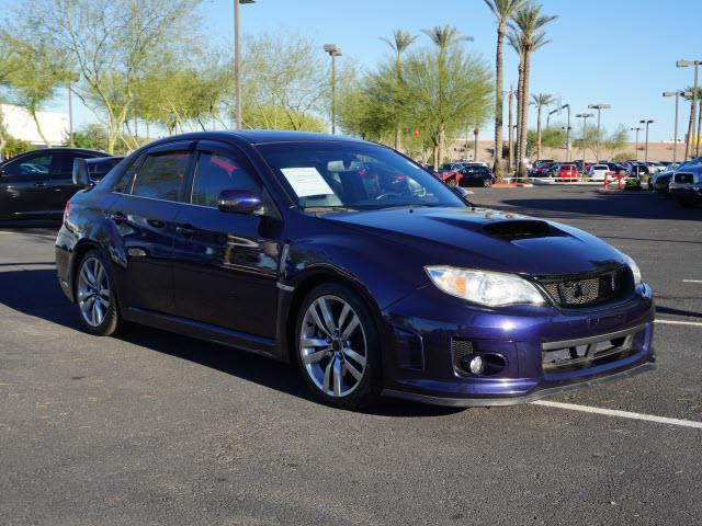 2013 Subaru Impreza Wrx Sti Awd Wrx Sti 4dr Sedan For Sale