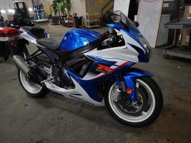 2013 Suzuki GSXR 600 Motorcycle for Sale in Byron Center ...