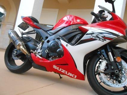2013 Suzuki Gsxr 600 / Red & White / in Excellent ...