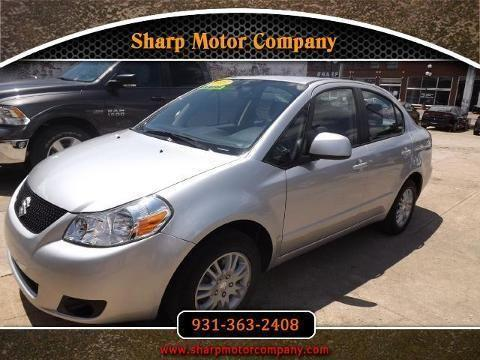 2013 suzuki sx4 4 door sedan for sale in pulaski for Sharp motor company in pulaski tn