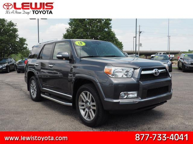 2013 toyota 4runner limited awd limited 4dr suv for sale in topeka kansas classified. Black Bedroom Furniture Sets. Home Design Ideas