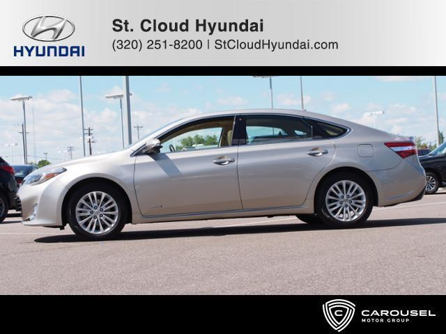 2013 toyota avalon hybrid limited limited 4dr sedan for sale in saint cloud minnesota. Black Bedroom Furniture Sets. Home Design Ideas