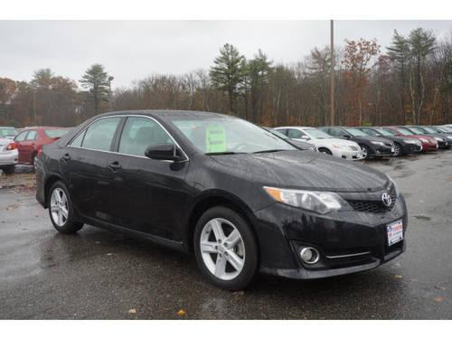 2013 toyota camry 4 dr sedan se for sale in raynham massachusetts classified. Black Bedroom Furniture Sets. Home Design Ideas