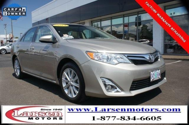 2013 toyota camry 4d sedan xle for sale in mcminnville for Larsen motors mcminnville oregon