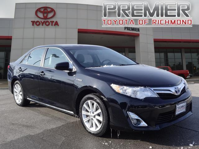 2013 toyota camry hybrid le 4dr sedan for sale in chester indiana classified. Black Bedroom Furniture Sets. Home Design Ideas