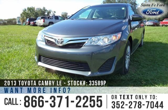 2013 Toyota Camry LE - 30K Miles - Finance Here!