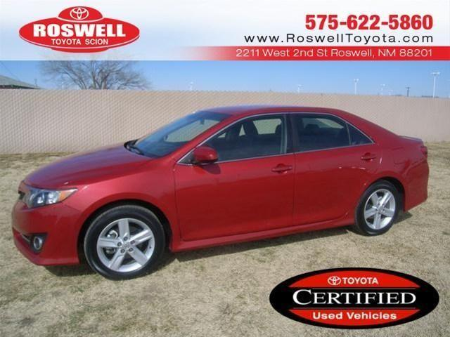 2013 Toyota Camry Sedan Se For Sale In Elkins New Mexico