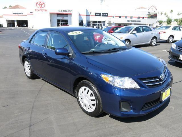 2013 toyota corolla 4dr car le for sale in claremont california classified. Black Bedroom Furniture Sets. Home Design Ideas