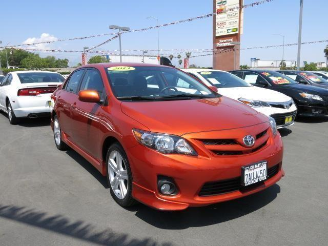 2013 toyota corolla 4dr car s special edition for sale in claremont california classified. Black Bedroom Furniture Sets. Home Design Ideas