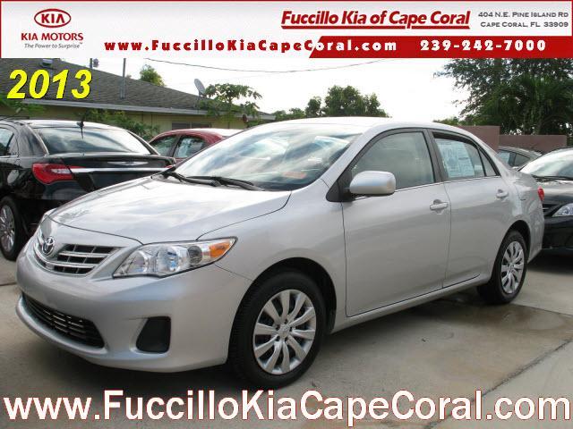 2013 Toyota Corolla Le Cape Coral Fl For Sale In Cape Coral Florida Classified