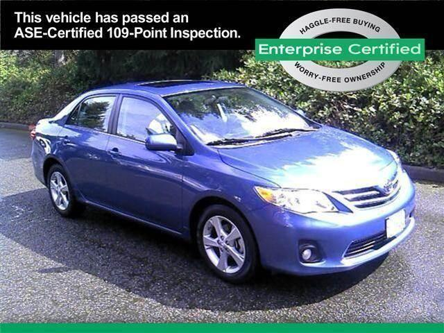 2013 toyota corolla le le for sale in tacoma washington for Washington state motor emission inspection center lakewood wa