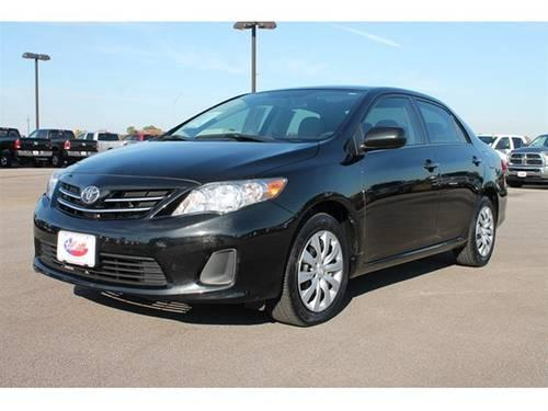 2013 toyota corolla sedan le special edition for sale in mount pleasant texas classified. Black Bedroom Furniture Sets. Home Design Ideas