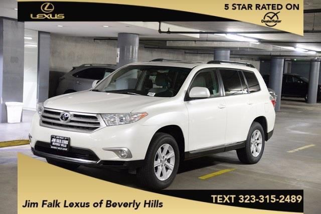 2013 Toyota Highlander Base Base 4dr SUV