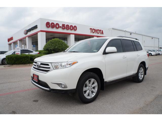 American Auto Sales Killeen Tx: 2013 Toyota Highlander Killeen, TX For Sale In Killeen
