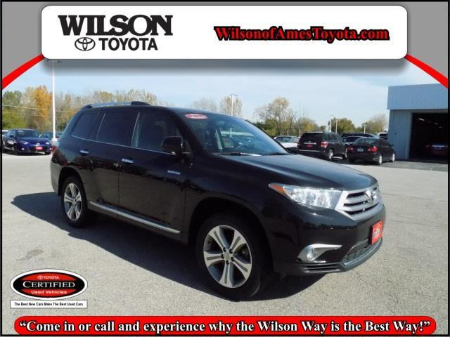 2013 toyota highlander limited awd limited 4dr suv for sale in ames iowa classified. Black Bedroom Furniture Sets. Home Design Ideas