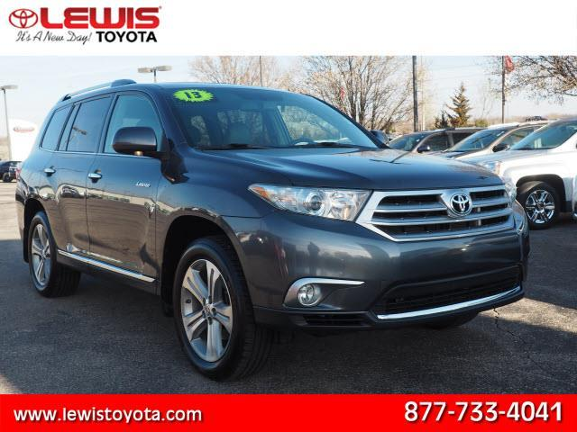 2013 toyota highlander limited awd limited 4dr suv for sale in topeka kansas classified. Black Bedroom Furniture Sets. Home Design Ideas