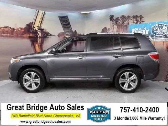 2013 Toyota Highlander Limited AWD Limited 4dr SUV