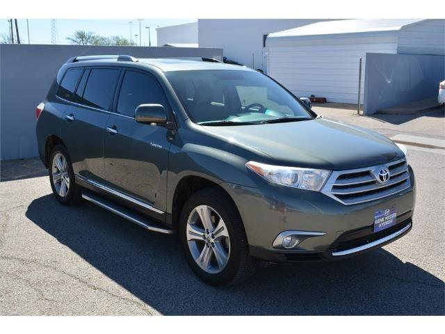 2013 toyota highlander limited limited 4dr suv for sale in lubbock texas classified. Black Bedroom Furniture Sets. Home Design Ideas