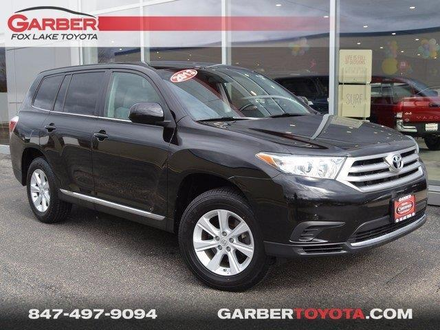 2013 toyota highlander plus plus 4dr suv for sale in fox lake illinois classified. Black Bedroom Furniture Sets. Home Design Ideas