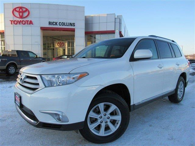 2013 toyota highlander se awd se 4dr suv for sale in sioux city iowa classified. Black Bedroom Furniture Sets. Home Design Ideas