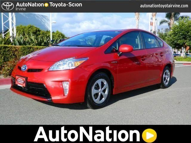 2013 toyota prius for sale in irvine california classified. Black Bedroom Furniture Sets. Home Design Ideas