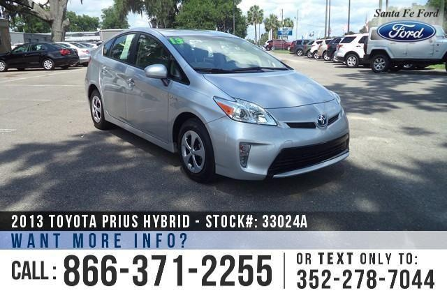 2013 Toyota Prius Three Hybrid - Back-up Cam - Rear