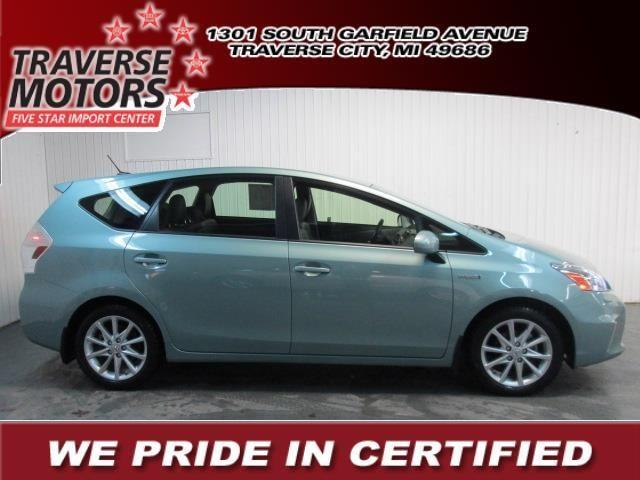 2013 toyota prius v wagon for sale in traverse city for Traverse city motors used cars