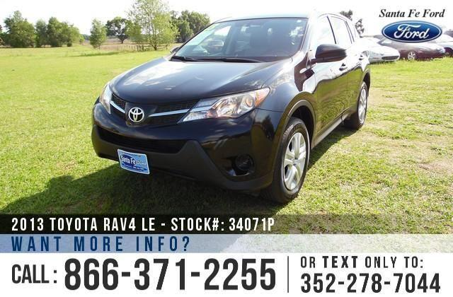 2013 Toyota RAV4 LE - 32K Miles - Financing Available!