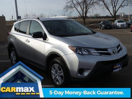 2013 toyota rav4 le awd le 4dr suv for sale in minneapolis minnesota classified. Black Bedroom Furniture Sets. Home Design Ideas