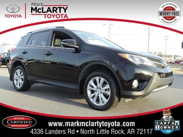 2013 toyota rav4 limited awd limited 4dr suv for sale in north little rock arkansas classified. Black Bedroom Furniture Sets. Home Design Ideas