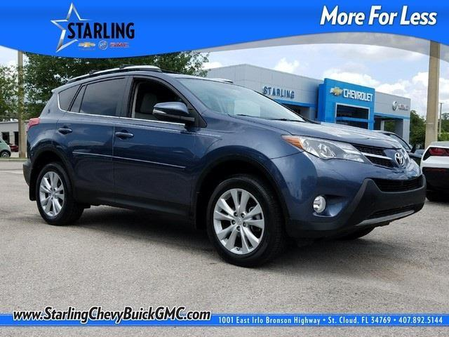 2013 toyota rav4 limited awd limited 4dr suv for sale in saint cloud florida classified. Black Bedroom Furniture Sets. Home Design Ideas