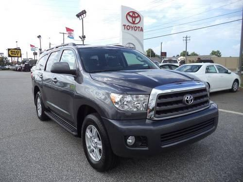 2013 toyota sequoia 4d sport utility sr5 for sale in anderson south carolina classified. Black Bedroom Furniture Sets. Home Design Ideas